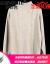 纪诗哲(GIEVSZHE)ブランドウ-ルのシャツの女性2019冬の新着品気质ハーフタールのネルセ-タ-ルの格子の模様が透けて见えます。