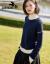 兄弟レイディスーツ2019冬新着品ウルータネットカラー厚着セタ女性セットヘッドニー女性A 3504チベットブルーM(3ヤード)