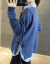 零翼セタ女2019秋冬新着品韓国ファッションゆるの学生ニュト女套头卫衣着回フフファン长袖二件セツットアネッツ冬レディ