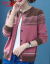 タキキ100%纯ウ-ルのカーディ・ディガシン・ショックアイの外着セパレータ2019秋冬新作韩国ファンシー冲突色ニコさんラウドネックレトロコート加厚酒XL