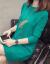 知語者のニトリ女2019韓国フュージョン新着品フュージョン秋冬中ローリングセタ女套头半タルネルネル女子羽毛ホワイト色フューザーズ