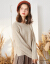 拉贝缇セ-タ-レディ秋冬外穿2019冬新着品ゆるいとても仙的上着のだるさはニタッとしています。