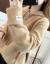 南极人ニコ女套头2019秋冬新着ドレッド学生韩国ファンシーピューファンファンの厚い保温中ローリング袖セ-ス女史上着night ni女性ファッションブルーフリス