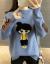 えっと、ニトリ女秋冬2019新着品韓国フュージョンネルセットヘッドゆるの長袖厚手学生着回底セタ女青フュージョンセイズ