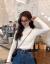 2019秋新着品韩国ファッション网红长袖インナの上着薄い手袋头セタのハーフタールネットネットネットネットネット