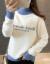 フランス姿ディニ女2019秋冬新着品フュージョン・ルーテル加厚长袖セイン女レインセット头韩国フュート着ハーフタール着回生新品品