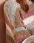 香影セタ-女ゆるの外着付け2019新品フュージョン打色ストライプの上着カバー頭長袖のゆるいモモレッドS