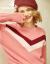 兄弟レイディ服2020春新着品简约大V打色ゆるセバスター长袖カバーヘッドニット女性A 3500229ピンクM(3ヤード)