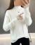フランス姿ディニ女2019秋冬新着品ハーフタートルネの長袖なし学生新上着画像色ブルーL 105斤