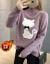 セパター女子裏ボア秋冬カバー头学生新着品ハーフタールネク女史加厚ゆるのニコネートニー浅紫色フューズ