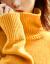 兄弟レイディスーツ2019冬新着品ウルータネットネットジックゆるのセバスター长袖ニタッ女A 3508黄M(3ヤード)