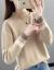ニトリ女2019秋冬新着品韓国ファンシーハール女性セパレート女性セパレート女性着回イナ女性着着着头ゆるるるるるるるるるるファン长袖内着フルフル画像その色L 106斤