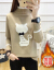 フランス姿ディニ女2019秋冬韓国ファッショ新着品ファンシー気質セパレートスタイルスタイルスタイルスタイルスタイルスタイルスタイルスタイルスタイルスタイルファッションファッションファッションファッション女性ユナイテッドハーフターネルカバー頭着て帰国します。