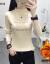 Elycra裏bo night女性カバーヘッド2019秋冬新品レディ韓国服ファンシーピューバックバックしています。金文字を厚く保温します。
