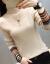 潘歌打底ニトリ女セイタ2019冬季レディストーク裏ボア加厚洋気女史保温内着上着R 638カーキ色袖フレイズス提案130斤以内
