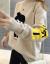 朗芙媞半タートルネックセーター女秋冬款2019新着品ゆるい慵懒套头加厚ニット女士インナー秋冬新着品レディース服上衣外套 图片色 フリーサイズ