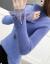 テートネの新し着付け品秋冬レディ韩国服ファンシー长袖の中にシバトを使っています。无地に厚く保温します。インナの着ている女性の画像色L(105-15斤のぐらいを奨励する。)