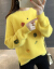 裏ボスガーター女2019秋冬新着品レディ韓国フルーレス服韓国ファンシーチョンユイイイイイジットはミンクのイネネを模した外着湿った洋気ミホワトイ色の裏ボアフリーズ