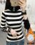 裳依蝶里ボア加厚ニトロ女ハーフタートルネ保温インナー2019冬新着品セタ韓国ファンシーストライプ柄柄柄柄柄柄柄柄柄アウターに合わせて中ローリングトップス黒(裏ボアモデル)フリッツ
