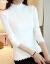 都麗雅尼特女套頭半タルネットセタ女2019秋冬モデル春新作韓国フューシ長袖ショートニック長袖ショートニックに上着を着用します。