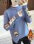 卡多秀女生里ボアハーフタートルネック女子冬款加厚ゆる女史インナドレス新着ファッションブランドニコラント女套头服カーキ色裏ボア