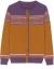 ZLOウロルカーターディップガーンセス-女ゆるの外は冲撃色のレトロなニココートを着て外はセタに乗ります。女はワインレッドフリーゼ-80-135斤を提案します。