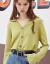 西遇ニトリ女ゆる2019秋新着品セタ女のものぐさショット早秋上着薄11691265緑色M