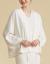 FIVE PHILO 2020春夏新着品女史カーディガン外套100%純綿浅灰色L(165/88 A)