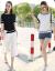 【反季清倉品質保証】純綿半袖弾性女2020春夏新着品韓国ファッションゆるの上着薄手でやせて見えるニーTシャツ293ホワイト色L(オススメ106-119斤)