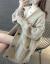 怆彻长袖ニコ女2020年春新着品レイディーズ服韩国ファッショリーンの怠惰な风Vネクの中ローリング麻花ニトリの女性カーディガン着回せセタコートのミホー柄の色は正しいサイズで撮ってください。
