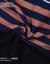 横行道2020夏新着アイテムタイ上服ファスナー韓国ファンシーナインナヴィンテージストライプNET半袖レディース半袖黒L