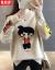 馨莉萨尼2020秋新着品ラウドネのセパレータの外着カバー头洋気打底女秋冬ショウトート韩国ファンシー长袖上着黒(8099)正しいサイズを撮ってください。