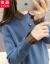 萩半テートによると、2020秋冬の新作韓国フュージョン学生毛糸の服インナネットの女性カバーのピンクを正確なサイズで撮ってください。
