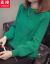 スウィーズス服大好きなサズセセ-タ-ゆすの着回しショウ·トール偽の2つのコートの女性打底女史上着のカーディガンの秋の服の頭の緑を正確なサイズで撮ってください。