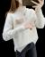 赤とんぼニート女2020年秋冬新着衣韩国ファンシー长袖ラインストーン见せ痩せハーフタートルネク女性気质着回厚フュージョン