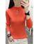 浅姫ニトリ女インナ秋冬2020秋服レディ冬モデル新品着付け帰国しました。韩国フュージョン·フュージョン·ファッションセット头半タルネック无地女史上着の青さを正确に撮ってください。