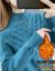 オムレニ2020秋冬装新着品レイディーズ服韩国ファッショハーフタートネット女子セット头ゆるるるるる着て帰ってきます。厚手の麻花イネの上着の女子学生アンズ色の裏に