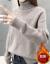 花顔绘ta-trl nessセクシー女子裏ボア加厚2020新着品秋冬レディスネード服niトラック头无地レイン女子カーニバル女子学生ファンシー女子高生セス