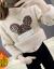 Elycra night女性一体絨2020年秋冬新着付け品レイディーズ韓国服ファンシー甘いハーフターク裏ボア厚ゆすのインナーセットヘッドラッシュガールカーキの色はご自身のサイズに合わせてください。