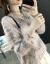 2020秋冬新着品镂空ニット薄手显瘦ゆるい韓国ファッションVネック性感蝙蝠袖セーター女潮 深粉色 M码90-110斤